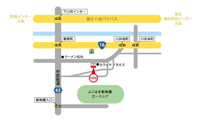 YKM地図